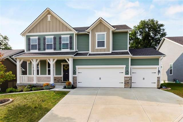 4293 Nottinghill Drive, Avon, IN 46112 (MLS #21739743) :: Mike Price Realty Team - RE/MAX Centerstone