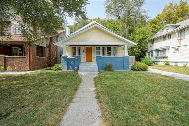 3316 N College Avenue, Indianapolis, IN 46205 (MLS #21739763) :: David Brenton's Team