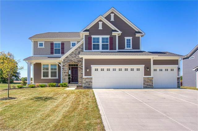 4126 Keighley Court, Zionsville, IN 46077 (MLS #21739903) :: Richwine Elite Group
