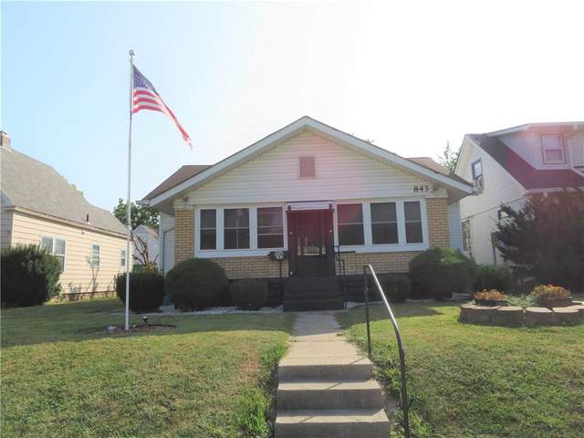 843 S Holmes Avenue, Indianapolis, IN 46221 (MLS #21739909) :: Mike Price Realty Team - RE/MAX Centerstone