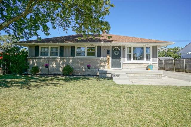 7630 E 52nd Street, Lawrence, IN 46226 (MLS #21739949) :: Mike Price Realty Team - RE/MAX Centerstone