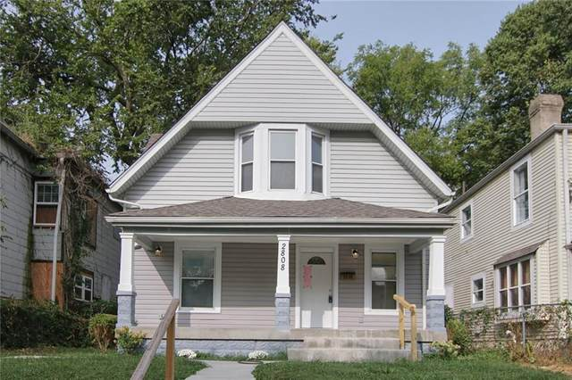 2808 Boulevard Place, Indianapolis, IN 46208 (MLS #21739964) :: Anthony Robinson & AMR Real Estate Group LLC