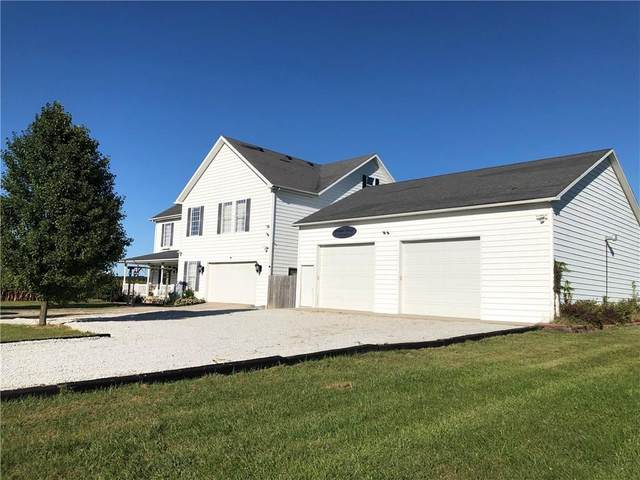 7572 S County Road 420 W, Greensburg, IN 47240 (MLS #21740047) :: Mike Price Realty Team - RE/MAX Centerstone