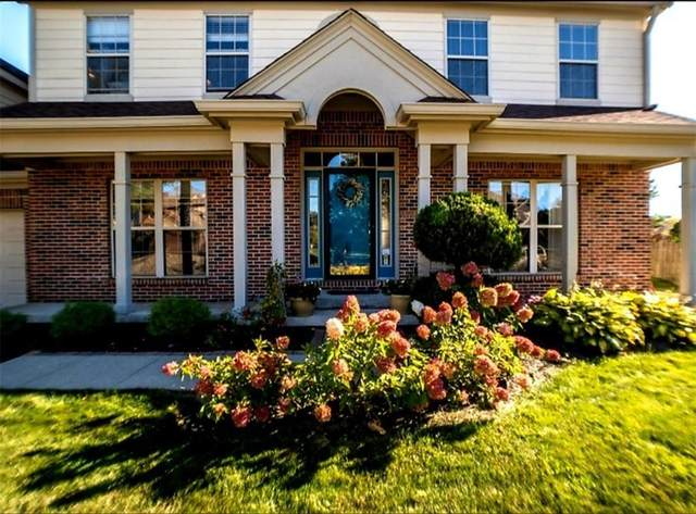 11027 Echo Trail, Indianapolis, IN 46236 (MLS #21740056) :: The Evelo Team
