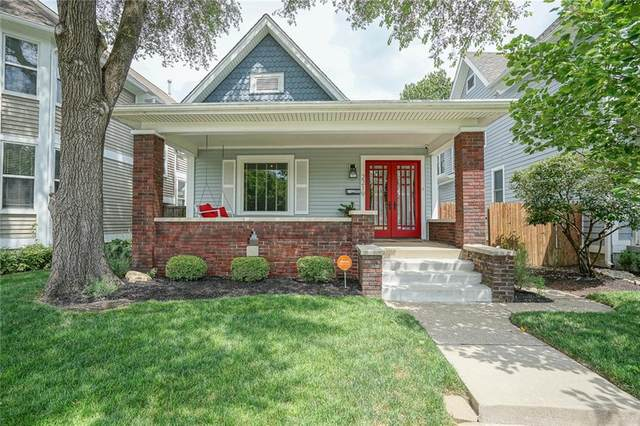 2219 N Pennsylvania Street, Indianapolis, IN 46205 (MLS #21740058) :: The Evelo Team