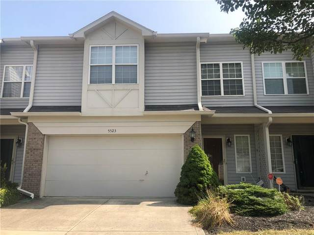 5523 Nighthawk Drive, Indianapolis, IN 46254 (MLS #21740225) :: Mike Price Realty Team - RE/MAX Centerstone