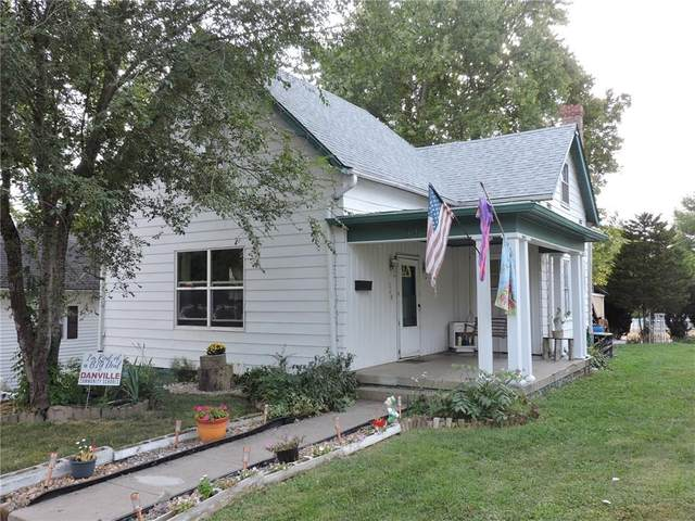 348 S Washington Street, Danville, IN 46122 (MLS #21740227) :: The Indy Property Source