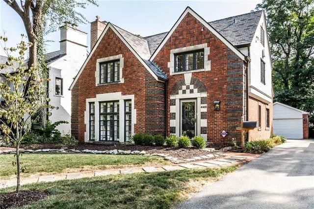 4451 N Delaware Street, Indianapolis, IN 46205 (MLS #21740275) :: AR/haus Group Realty