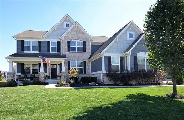 10027 Landis Boulevard, Fishers, IN 46040 (MLS #21740363) :: Mike Price Realty Team - RE/MAX Centerstone