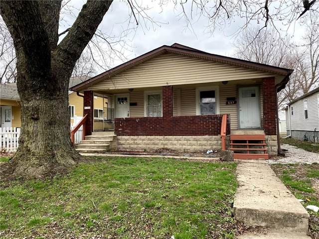 535 S Keystone Avenue, Indianapolis, IN 46203 (MLS #21740384) :: Heard Real Estate Team | eXp Realty, LLC