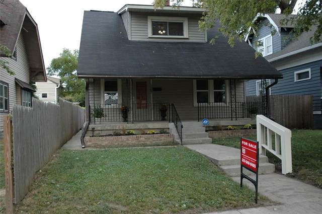 3009 N Broadway Street, Indianapolis, IN 46205 (MLS #21740393) :: AR/haus Group Realty