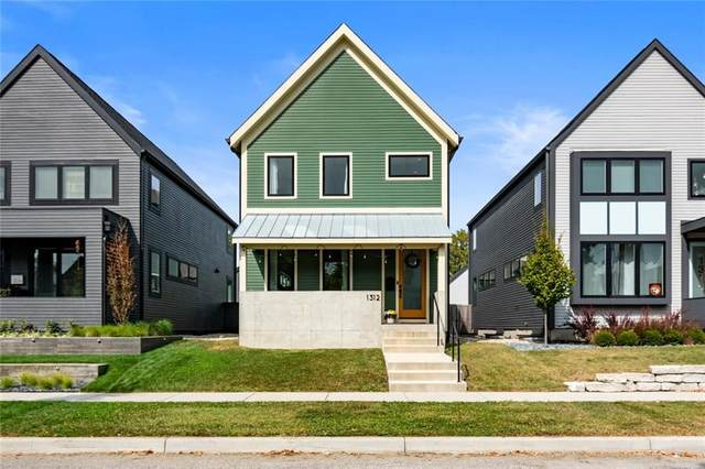 1312 Marlowe Avenue, Indianapolis, IN 46202 (MLS #21740467) :: AR/haus Group Realty