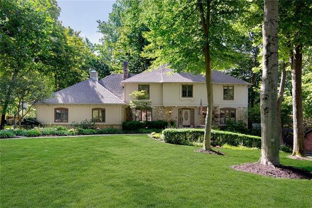 755 Wood Court, Zionsville, IN 46077 (MLS #21740494) :: The Indy Property Source