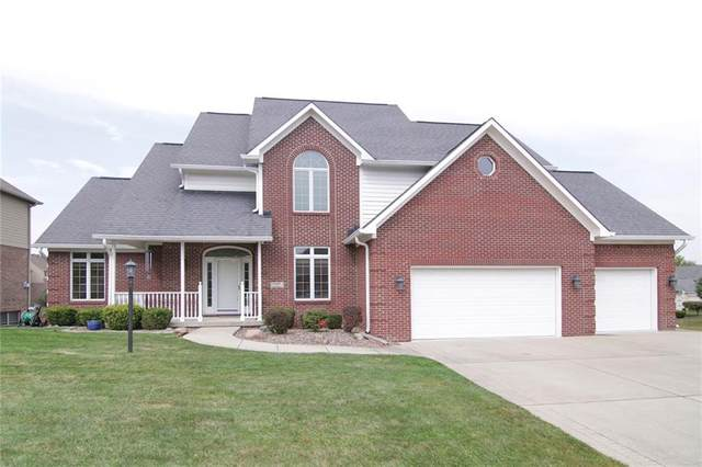 7677 Stones River Drive, Indianapolis, IN 46259 (MLS #21740530) :: Mike Price Realty Team - RE/MAX Centerstone