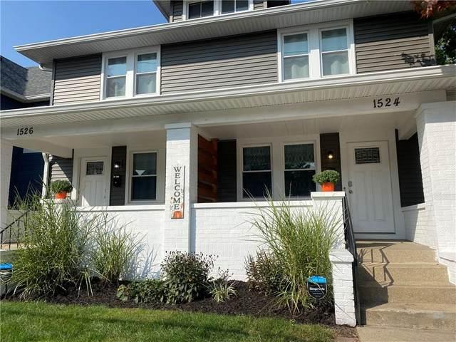 1524 S East Street #1524, Indianapolis, IN 46225 (MLS #21740541) :: Richwine Elite Group
