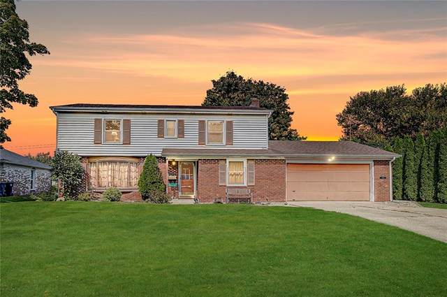 3116 Meadowcrest Drive, Anderson, IN 46011 (MLS #21740556) :: Anthony Robinson & AMR Real Estate Group LLC
