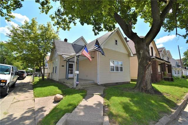 1801 S Union Street, Indianapolis, IN 46225 (MLS #21740735) :: AR/haus Group Realty