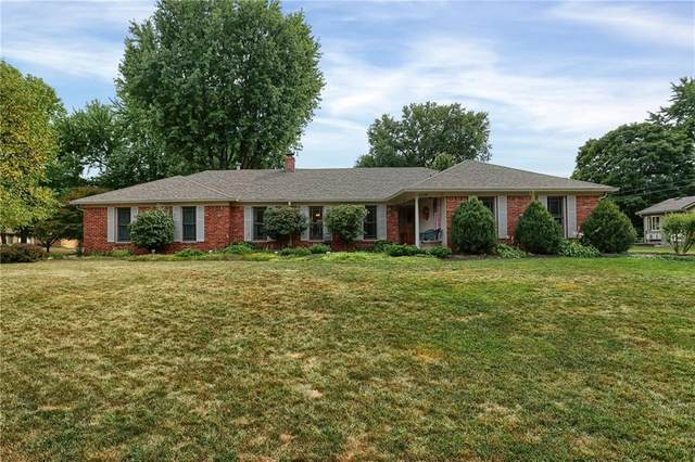 4039 Lucky Lane, Greenwood, IN 46142 (MLS #21740760) :: David Brenton's Team