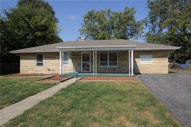 3574 W Murray Street, Indianapolis, IN 46221 (MLS #21740889) :: The ORR Home Selling Team