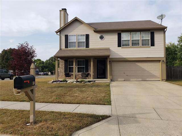 591 Old Farm Road, Danville, IN 46122 (MLS #21740925) :: The Indy Property Source
