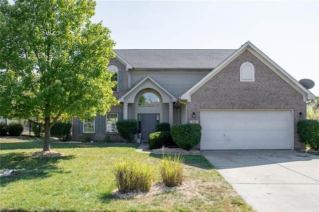 4895 Aquaduct Drive, Greenwood, IN 46142 (MLS #21741967) :: David Brenton's Team