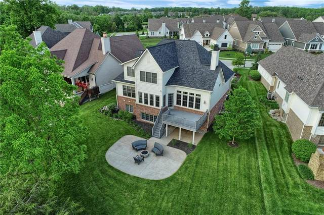 11495 Golden Willow Drive, Zionsville, IN 46077 (MLS #21741970) :: Anthony Robinson & AMR Real Estate Group LLC