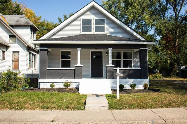 825 N Parker Avenue, Indianapolis, IN 46201 (MLS #21742125) :: Heard Real Estate Team | eXp Realty, LLC
