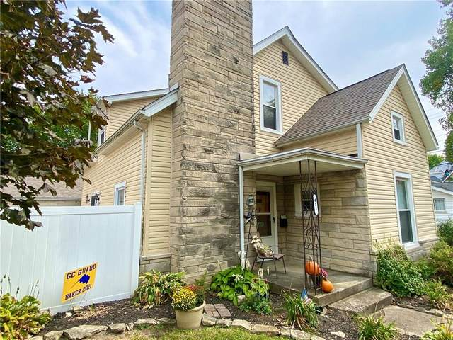 411 N Broadway Street, Greenfield, IN 46140 (MLS #21742144) :: Anthony Robinson & AMR Real Estate Group LLC