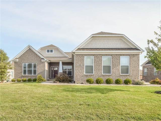 4418 Hickory Stick Parkway, Greenwood, IN 46143 (MLS #21742169) :: David Brenton's Team
