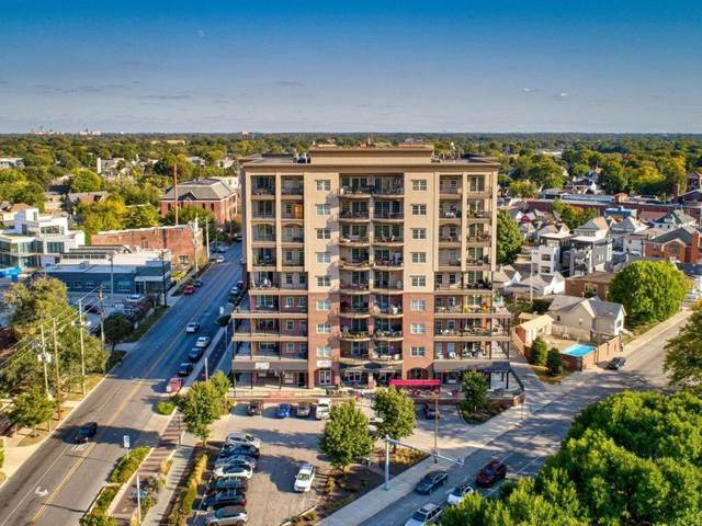 435 Virginia Avenue #407, Indianapolis, IN 46203 (MLS #21742174) :: The Evelo Team