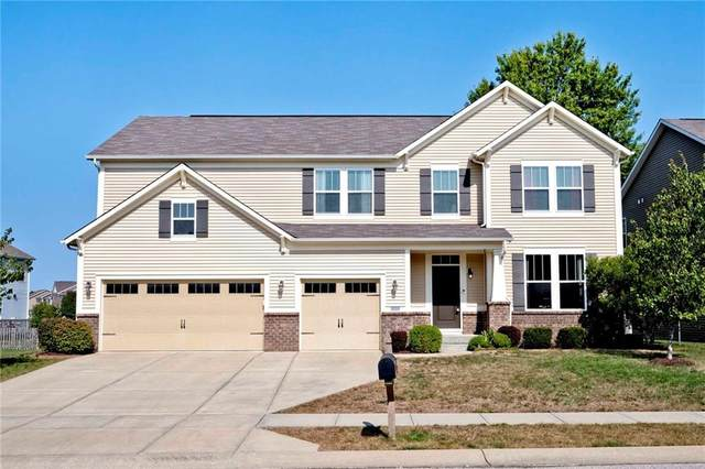 5892 Chazimal Street, Plainfield, IN 46168 (MLS #21742186) :: The Indy Property Source