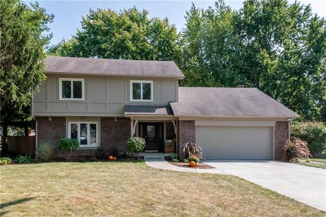 817 Sunblest Boulevard, Fishers, IN 46038 (MLS #21742187) :: Mike Price Realty Team - RE/MAX Centerstone