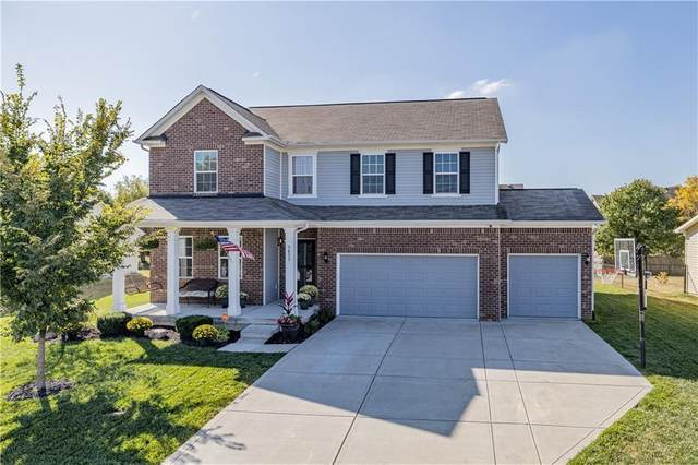 5855 W Commonview Drive, Mccordsville, IN 46055 (MLS #21742246) :: Richwine Elite Group