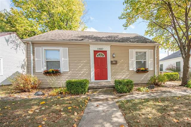 1907 Keller Avenue, Columbus, IN 47201 (MLS #21742263) :: AR/haus Group Realty