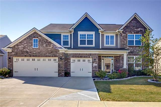 1283 Avocet Drive, Greenwood, IN 46143 (MLS #21742267) :: David Brenton's Team