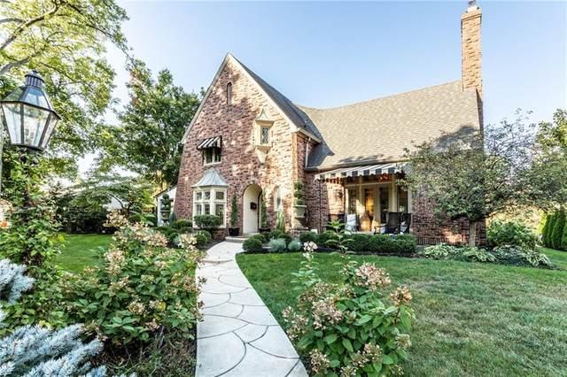 5450 N Delaware Street, Indianapolis, IN 46220 (MLS #21742390) :: The ORR Home Selling Team