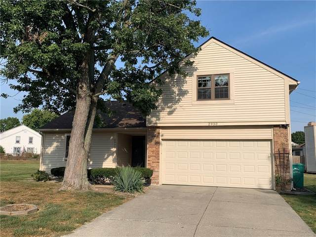2930 W Horse Hill West Drive, Indianapolis, IN 46214 (MLS #21742434) :: The Evelo Team