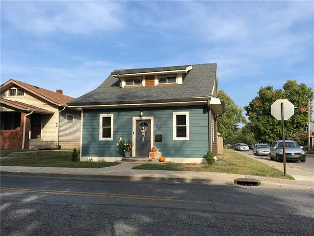701 N Emerson Avenue, Indianapolis, IN 46219 (MLS #21742547) :: Richwine Elite Group