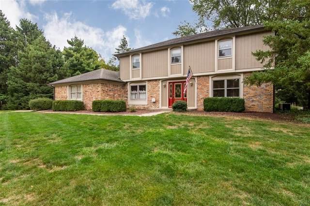 9961 E Bridger Drive, Carmel, IN 46033 (MLS #21742614) :: The Indy Property Source