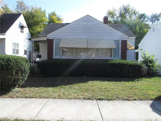 4821 E 21st Street, Indianapolis, IN 46218 (MLS #21742654) :: The Evelo Team