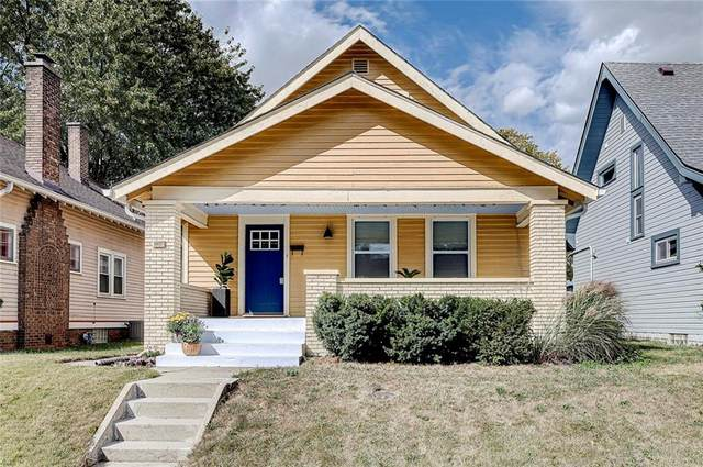 1032 E Tabor Street, Indianapolis, IN 46203 (MLS #21742688) :: Mike Price Realty Team - RE/MAX Centerstone