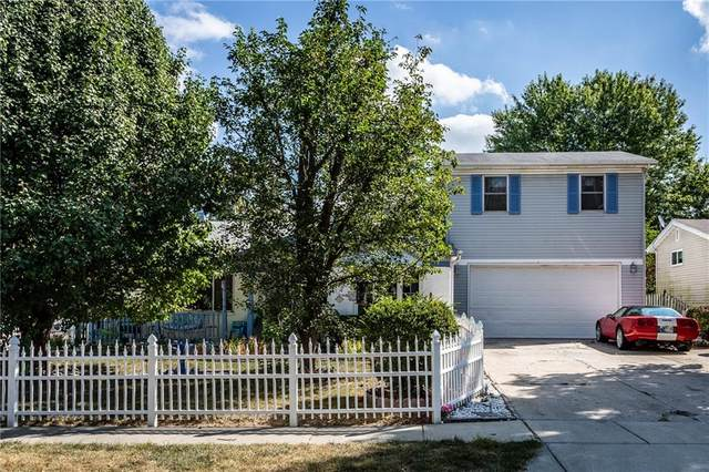 4143 Flamingo East Drive, Indianapolis, IN 46226 (MLS #21742743) :: Richwine Elite Group