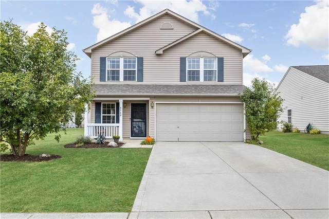 3740 Indigo Blue Boulevard, Whitestown, IN 46075 (MLS #21742750) :: AR/haus Group Realty
