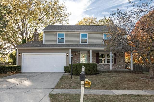 12202 Colbarn Place, Fishers, IN 46038 (MLS #21742799) :: AR/haus Group Realty