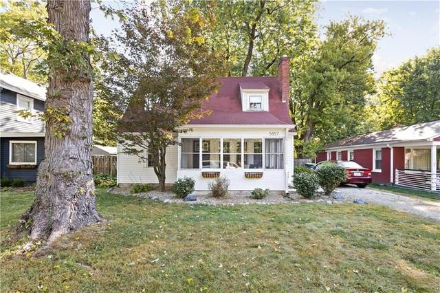 5857 Rosslyn Avenue, Indianapolis, IN 46220 (MLS #21742859) :: The ORR Home Selling Team