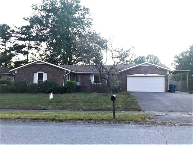 1416 Wellington Avenue, Indianapolis, IN 46219 (MLS #21743097) :: Mike Price Realty Team - RE/MAX Centerstone