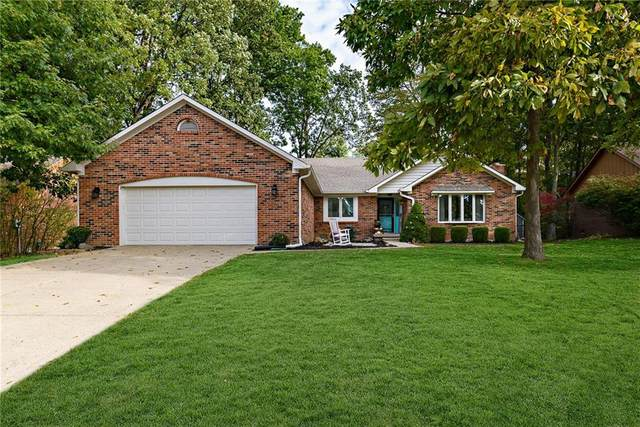 1346 Old Hickory Drive, Greenwood, IN 46142 (MLS #21743100) :: Richwine Elite Group