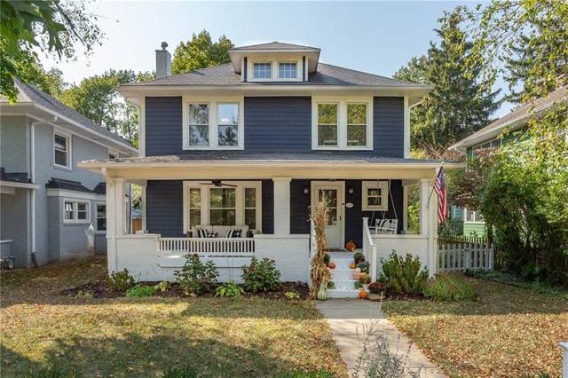 4350 N College Avenue, Indianapolis, IN 46205 (MLS #21743124) :: AR/haus Group Realty