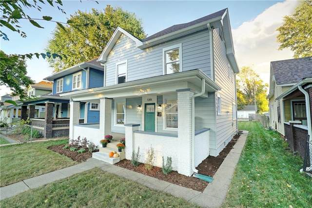 1205 N Oxford Street, Indianapolis, IN 46201 (MLS #21743141) :: Mike Price Realty Team - RE/MAX Centerstone