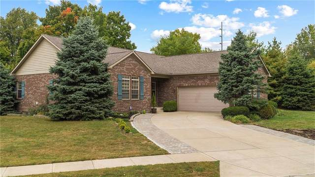 10580 Beaver Ridge Drive, Fishers, IN 46037 (MLS #21743180) :: HergGroup Indianapolis